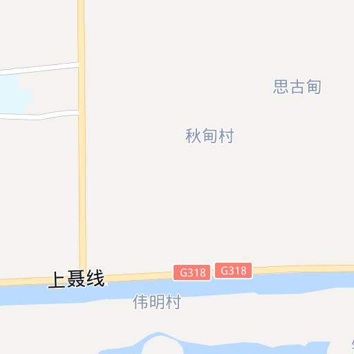 上海青浦区金泽镇金泽村地图-区县\/乡镇地图等